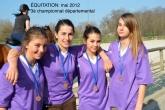 Équitation - UNSS - Association sportive - Institut de l'Assomption