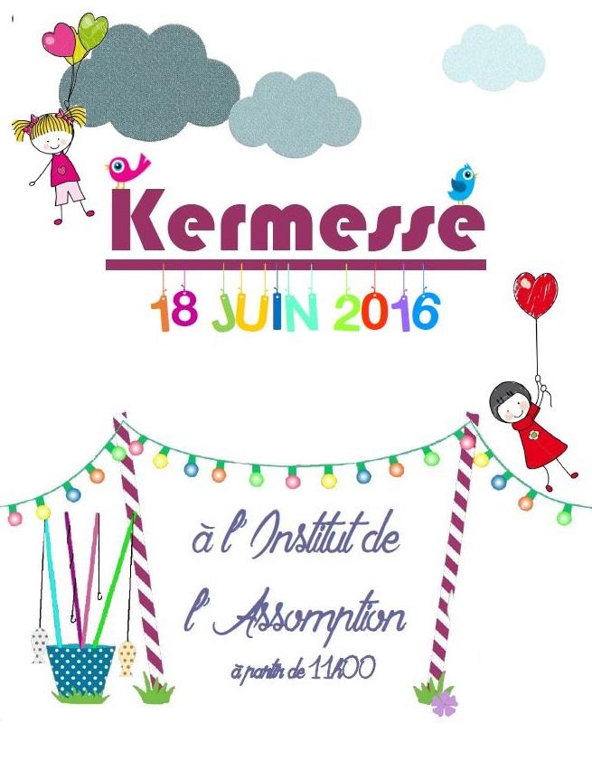 Populaire Infos Kermesse 2016 - École privée bilingue catholique maternelle  PM68